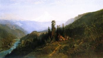 Mount Hood from Hood River | William Keith | oil painting