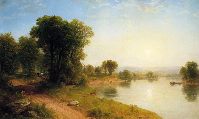 Landscape | Asher B Durand | oil painting