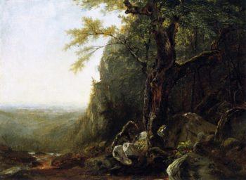 Mountain Landscape | John Frederick Kensett | oil painting