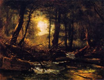 Woodland Glade | Thomas Worthington Whittredge | oil painting