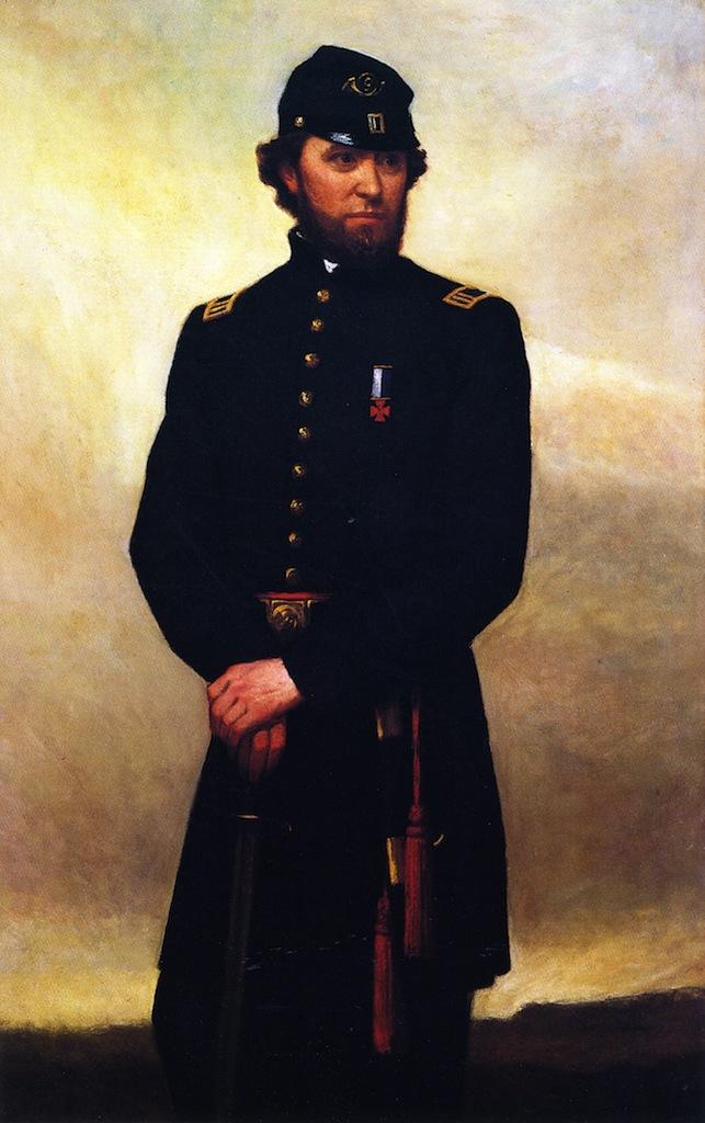Captain William Madigan | William Morris Hunt | oil painting