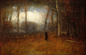 November Montclair | George Inness | oil painting