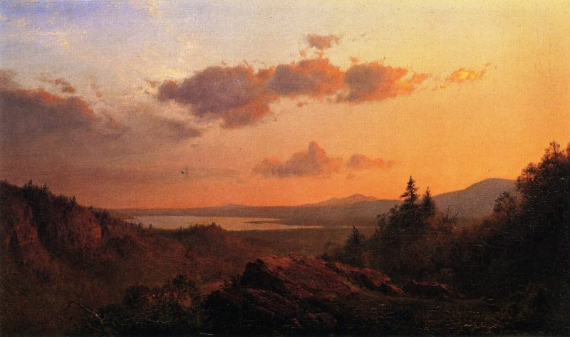 View of the Hudson River from Olana | Frederic Edwin Church | oil painting