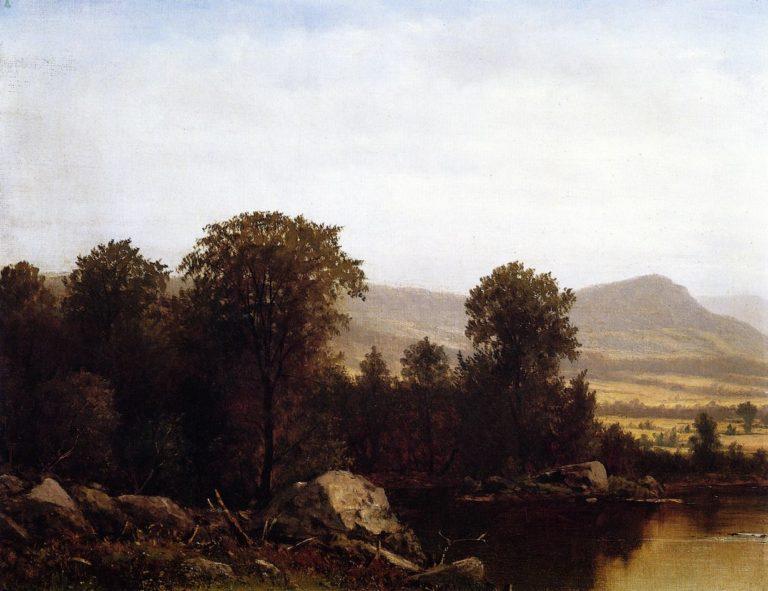 Schooleys Mountain New Jersey | David Johnson | oil painting