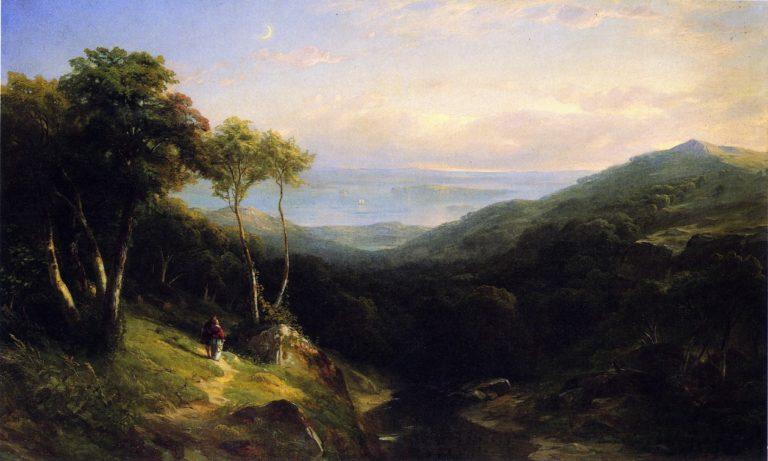 Off the Maine Coast | Samuel Colman Jr | oil painting