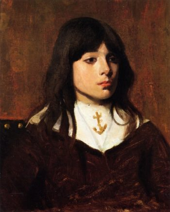 Portrait of a Boy | Frank Duveneck | oil painting