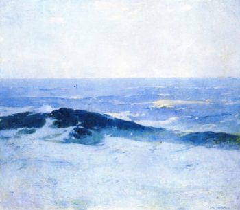 Misty Sea | Emil Carlsen | oil painting