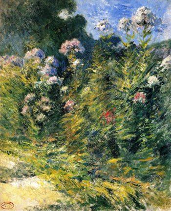 The Flower Garden | John Twachtman | oil painting