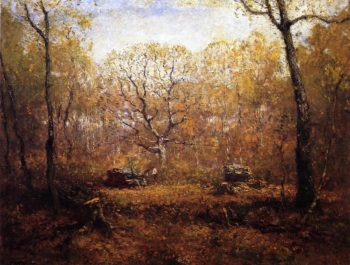 The Woodcutters | Henry Ward Ranger | oil painting