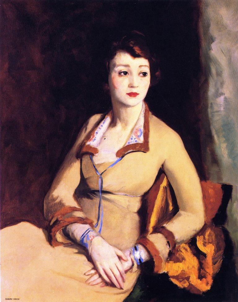 Fay Bainter | Robert Henri | oil painting
