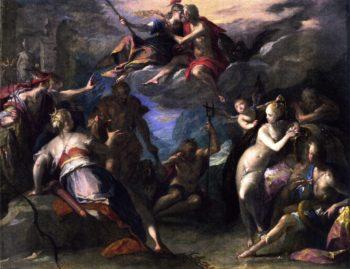 The Amazement of the Gods | Hans von Aachen | oil painting
