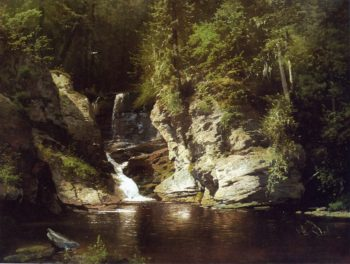Woodland Pool Newry Maine | Herman Herzog | oil painting