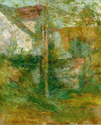 Afternoon Shadows | John Twachtman | oil painting