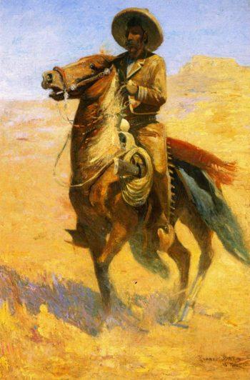 Heading Up the Range | Edward Borein | oil painting