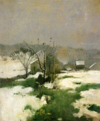 An Early Winter | John Twachtman | oil painting