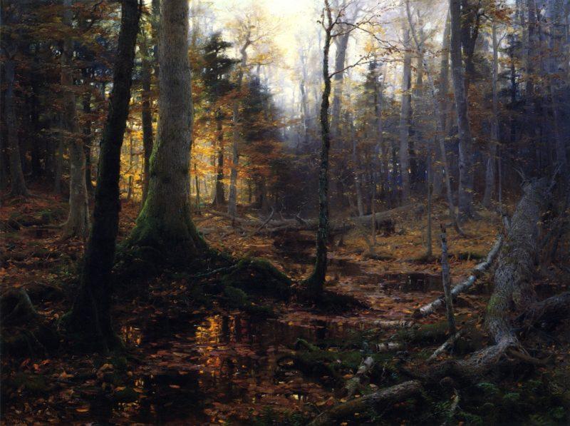 Fallen Monarchs   William Bliss Baker   oil painting