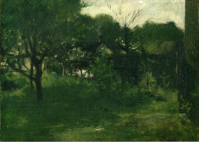 Avondale Ohio | John Twachtman | oil painting