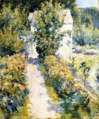 Azaleas | John Twachtman | oil painting