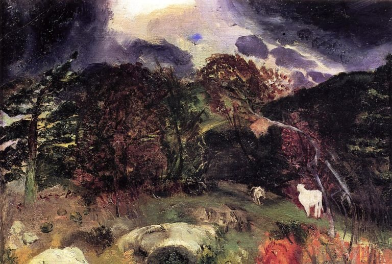 A Wild Place | George Wesley Bellows | oil painting