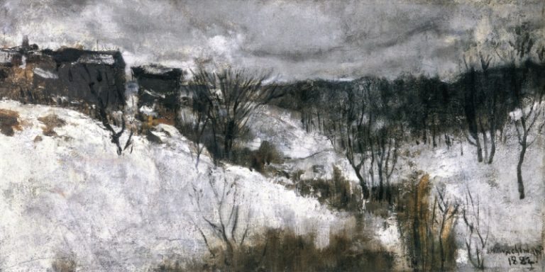 Bloody Run | John Twachtman | oil painting