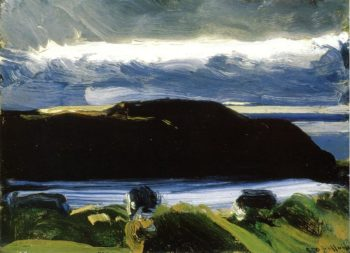 Breaking Sky Monhegan | George Wesley Bellows | oil painting