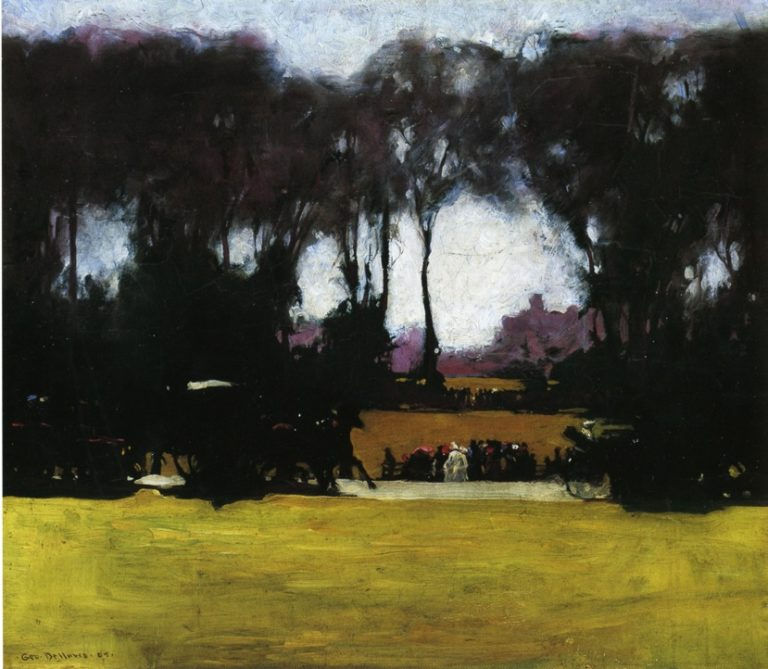 Central Park | George Wesley Bellows | oil painting