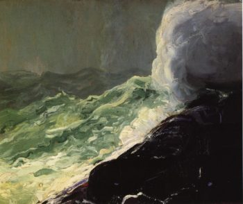 Churn and Break | George Wesley Bellows | oil painting