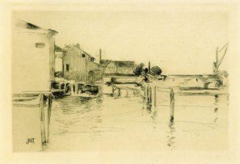 Bridgeport | John Twachtman | oil painting
