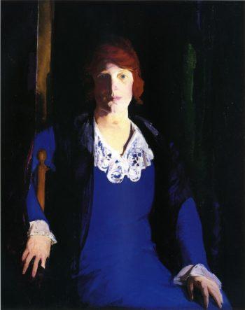 Florence Pierce | George Wesley Bellows | oil painting