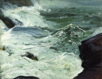 From Rock Top Monhegan | George Wesley Bellows | oil painting