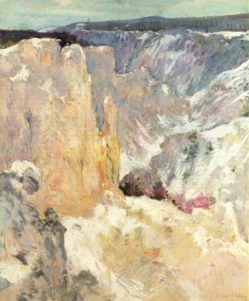 Canyon in the Yellowstone | John Twachtman | oil painting