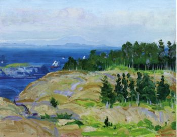 Green Point | George Wesley Bellows | oil painting