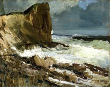 Gull Rock and Whitehead | George Wesley Bellows | oil painting