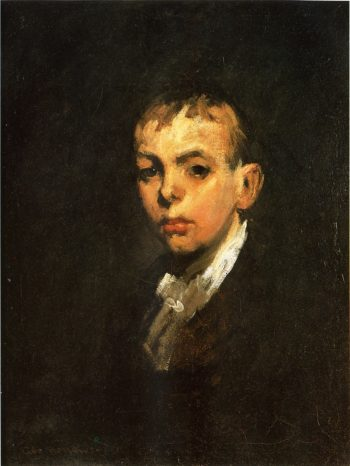 Head of a Boy | George Wesley Bellows | oil painting