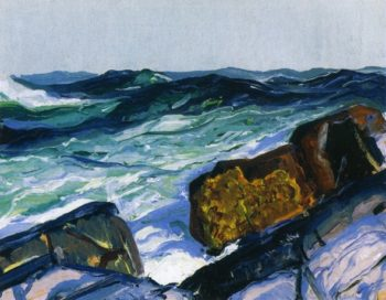 Iron Coast Monhegant | George Wesley Bellows | oil painting