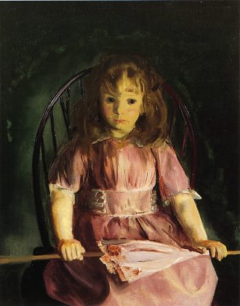 Jean in a Pink Dress | George Wesley Bellows | oil painting
