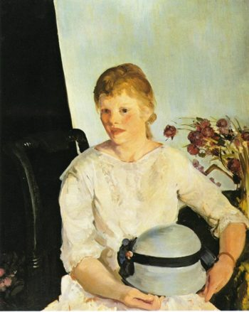Lillian   George Wesley Bellows   oil painting