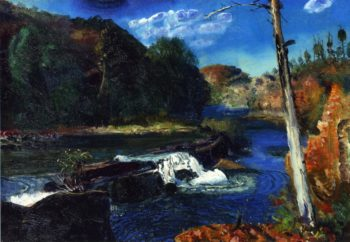 Mill Dam | George Wesley Bellows | oil painting