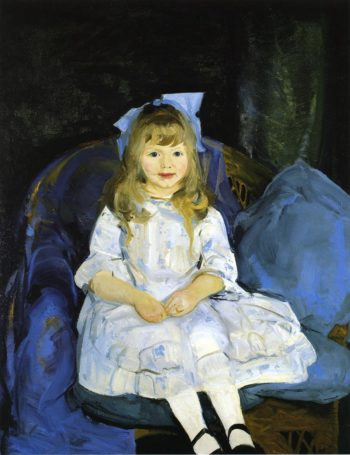 Portrait of Anne | George Wesley Bellows | oil painting