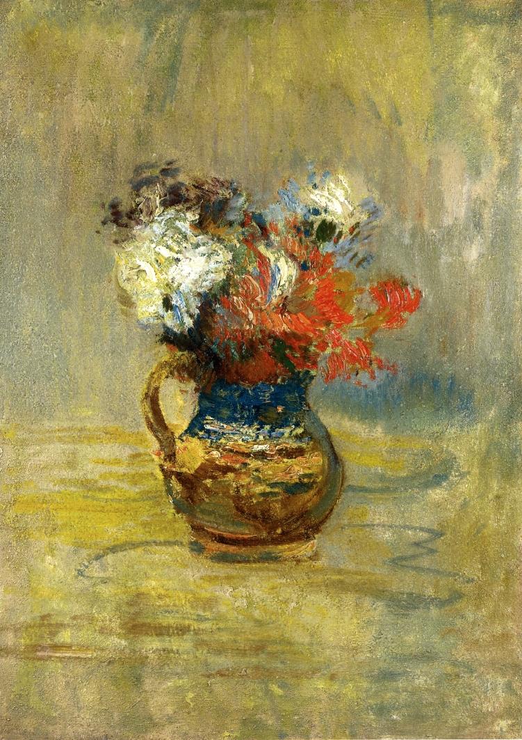 Flower Still Life | John Twachtman | oil painting