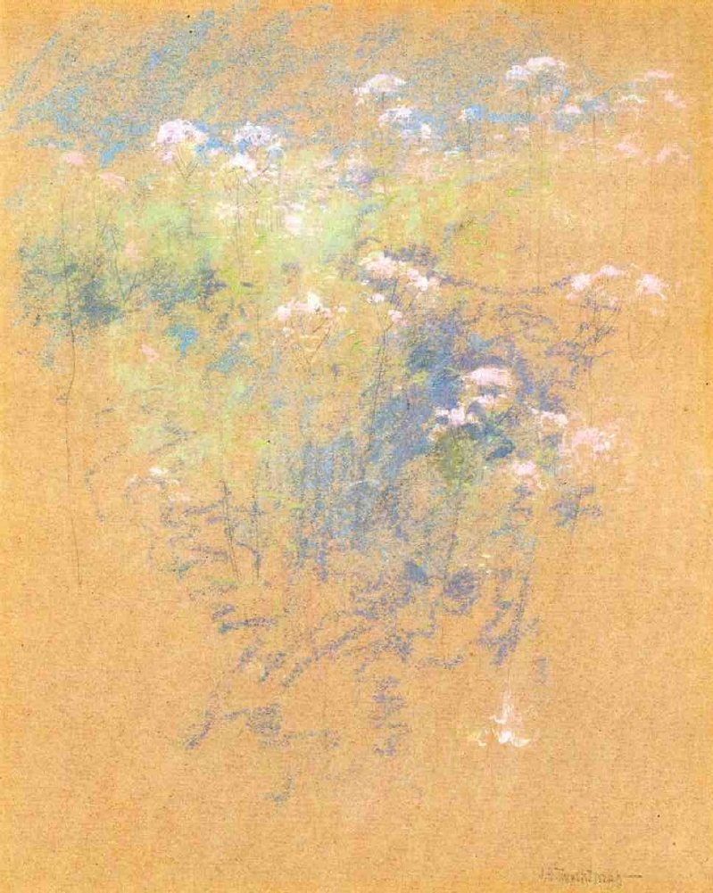 Flowers | John Twachtman | oil painting