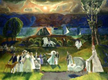 Summer Fantasy | George Wesley Bellows | oil painting