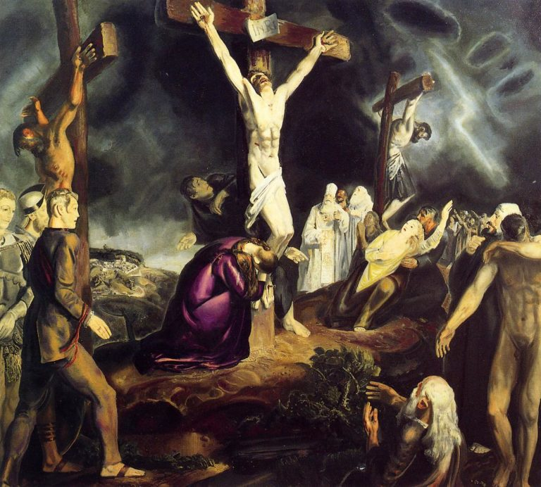 The Crucifixion | George Wesley Bellows | oil painting