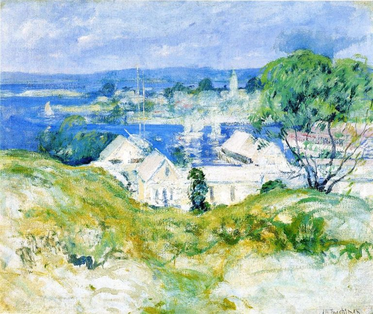 Gloucester | John Twachtman | oil painting