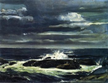 The Sea | George Wesley Bellows | oil painting