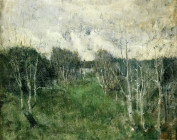 Gray Day | John Twachtman | oil painting