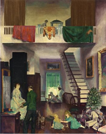 The Studio | George Wesley Bellows | oil painting