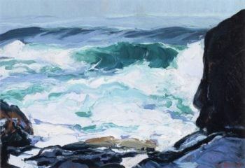 Tide Ledge | George Wesley Bellows | oil painting