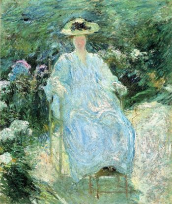 In the Sunlight | John Twachtman | oil painting