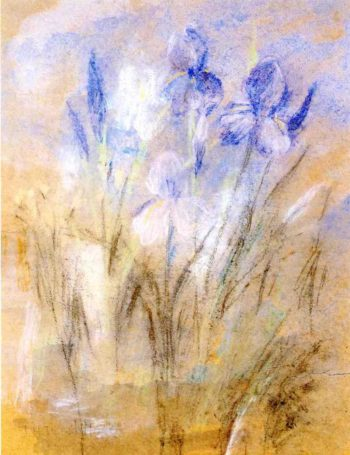 Irises | John Twachtman | oil painting